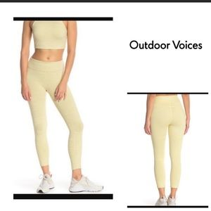 OUTDOOR VOICES 7/8 LEGGINGS - SIZE S